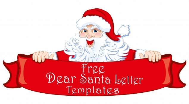 Free Printable Dear Santa Letter Templates - HD Writing Co.