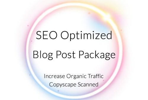 SEO Optimized Blog Post Package